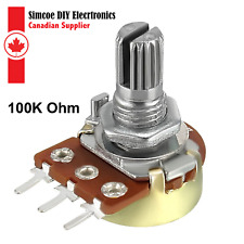 100K Ohm PT15 15mm Trimmer Potentiometer Horizontal Mount incl shaft x10pcs