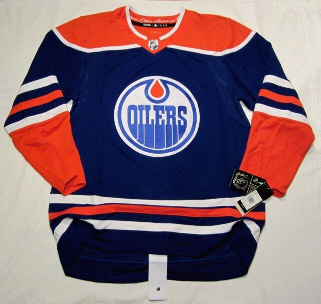 EDMONTON OILERS size 54 = szie XL - Alternate 3rd Style ADIDAS NHL HOCKEY JERSEY