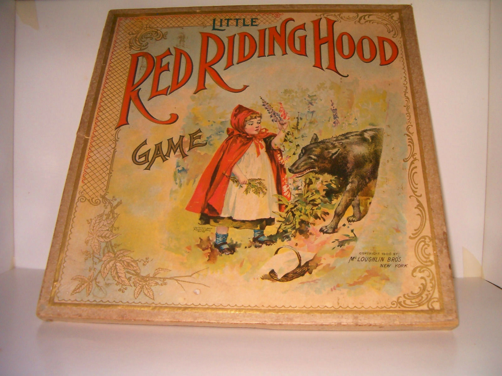Little rouge Riding Hood Game McLoughlin Bros. C1900