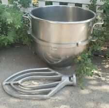 Genuine Hobart 60 Qt Mixing Bowl With Vmlh 60 B Beater Set Great Shape