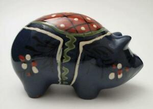 NITTSJO-SWEDEN-SCANDINAVIAN-POTTERY-VINTAGE-PIG-PIGGY-BANK-MONEY-BOX-MID-CENTURY