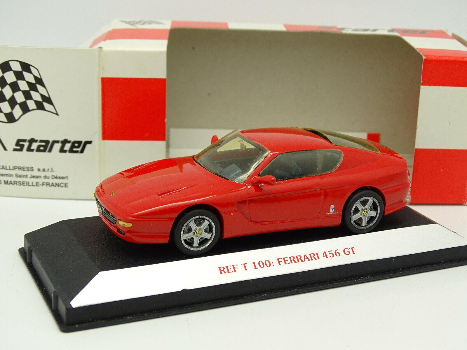 Starter Set Aufgebaut 1 43 - Ferrari 456 Gt Rot
