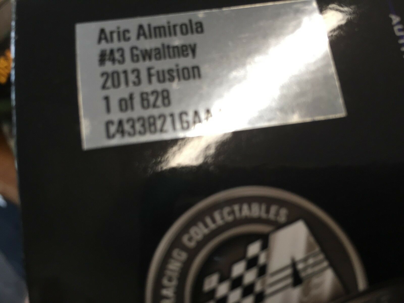 1 24 ACTION Aric Almirola Gwaltney 1 1 1 of 628 Ford Fusion b648ff