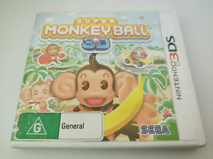 Like New Nintendo 2DS / 3DS Super Monkey Ball FREE POSTAGE
