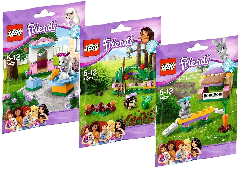 Lego Friends série 2 - Jeu de construction - 41020 - 41021 - 41022