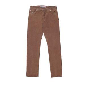 5 Luigi Pantalon Neuf Borrelli Poches Luxe Jeans Vintage Marron 36 De Taille xBfFBqCg