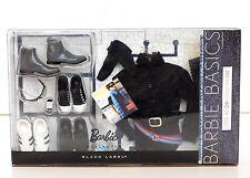 "BARBIE BASICS ""KEN"" LOOK No. 04 Denim Collection 002 (Black & Casual)_T7756_NRFB"