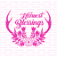 Durable /& Reusable Mylar Stencils Harvest Blessings Antlers Stencil