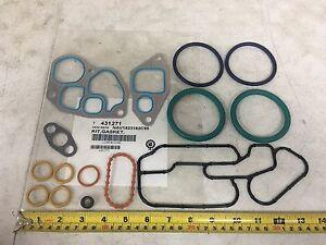 Oil Cooler Gasket Kit For An International Dt466e Pai 431271 Ref 1823182c95 Ebay