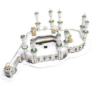 Details about Masjid Al-haram Mecca Mosque 3D Puzzle Kids Eid / Ramadan Toy