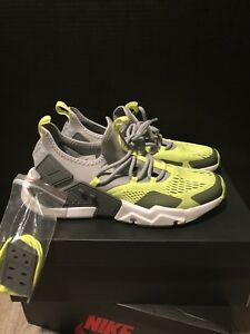 new arrival 6b62a 5afd4 Image is loading Nike-Air-Huarache-Drift-BR-Men-Wolf-Grey-