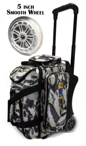 low 40% price KAZE SPORTS Deluxe 2 Ball Roller Bowling Bag with ...