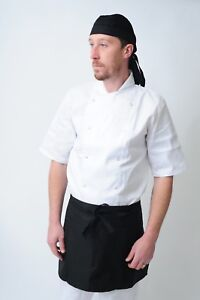 chef bandana ties and back protector head band Restaurant Work Wear Hat zandana