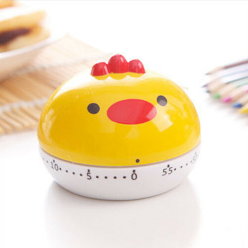 Novelty Kitchen Timer 60 Minutes Cooking Mechanical Countdown Alarm UK