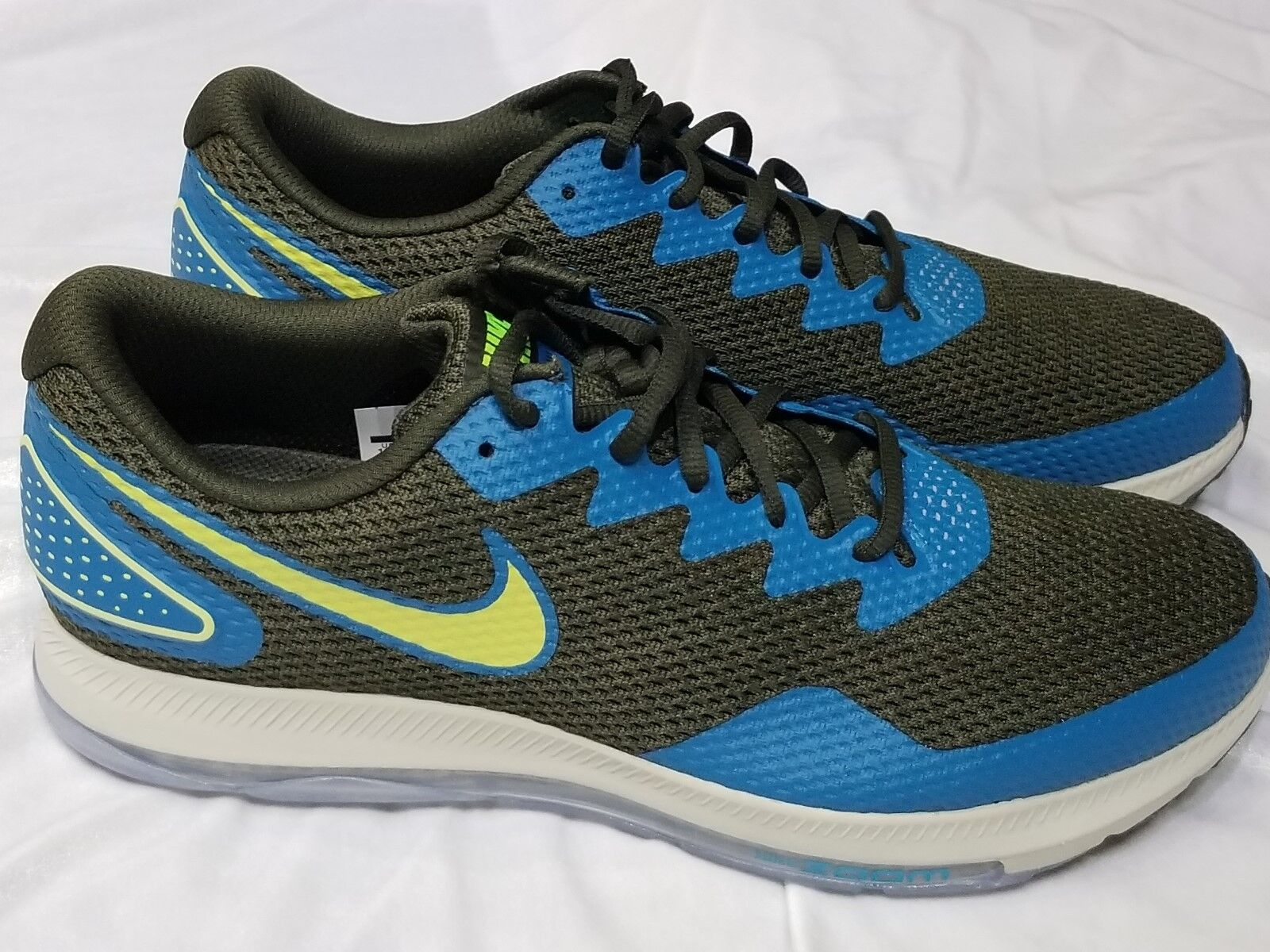 MENS NIKE ZOOM ALL OUT LOW 2 BLUE GREEN SZ 9.5
