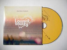 LAURENT VOULZY : DERNIERS BAISERS ♦ CD SINGLE PORT GRATUIT ♦