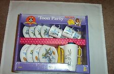 1997 Tootsie Toys 'Toon Party Tea Service Set for girls