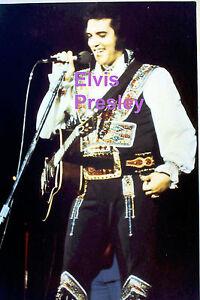 ELVIS-PRESLEY-GYPSY-SUIT-UNIONDALE-NY-7-19-75-ORIGINAL-OLD-KODAK-PHOTO-CANDID-C