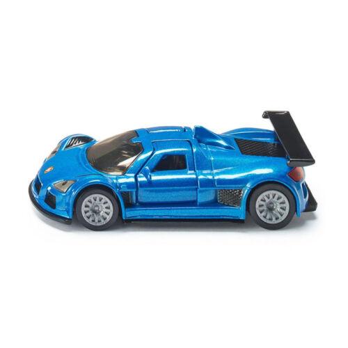 Siku 1444 Gumpert Apollo blu metallizzato BLISTER ° modello di auto NUOVO