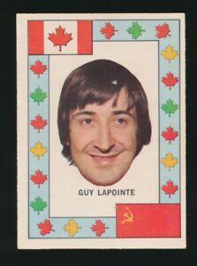 1972-73-O-Pee-Chee-Hockey-TEAM-CANADA-Insert-GUY-LaPOINTE-Canadiens-HOF