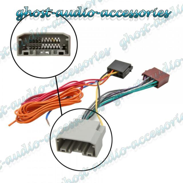 Car Stereo Radio ISO Wiring Harness Connector Adaptor Cable for Jeep Patriot