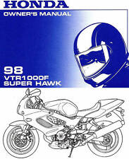 honda vtr1000f firestorm owners manual ebay rh ebay co uk Honda VTR1000 Superhawk vtr 1000 firestorm workshop manual