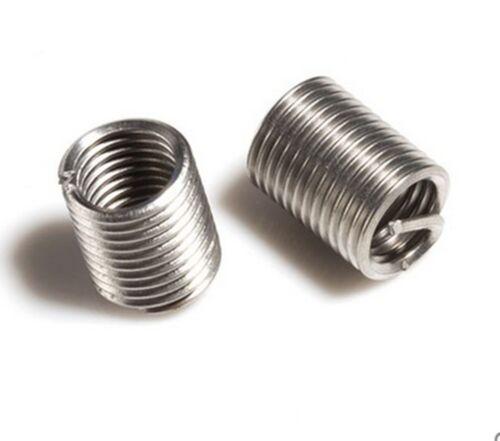10pcs New M22*2.5 1D insert length helicoil Stainless Steel Screw Thread insert