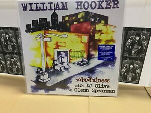 William Hooker 2 LP Clear Vinyl Dj Olive Glemn Speerkämpfer RSD 2019 Versiegelt