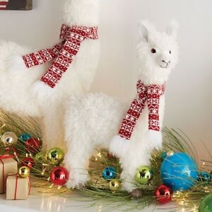 image is loading new raz imports 17 034 winter white llama