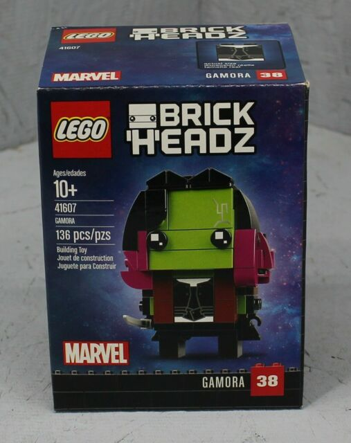 Lego Brick Headz Gamora 38 Marvel 136 pcs Building Toy 41607