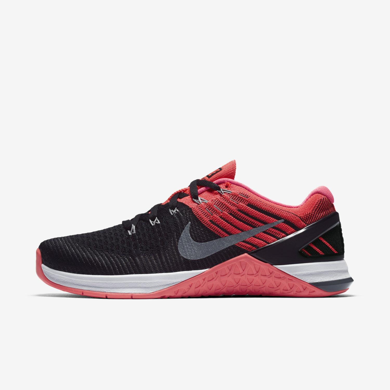 Wmns Nike Metcon DSX 849809-009 Flyknit Sz 5-10 Black/Grey/Punch 849809-009 DSX FREE SHIPPING 5b2791