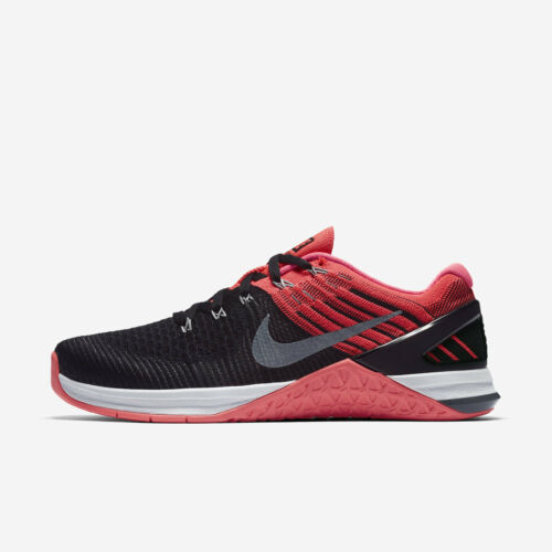 Wmns Nike Metcon DSX Flyknit Sz 5-10 Black//Grey//Punch 849809-009 FREE SHIPPING