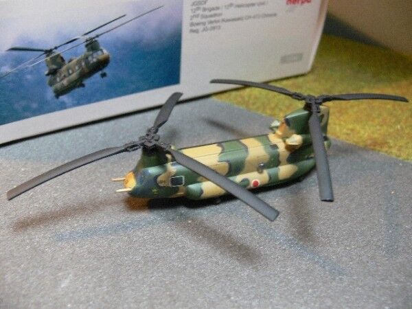 1 200 Herpa JGSDF 12th Brigade 12th Helicopter Unit 2nd SQD BOEING VERTOL...