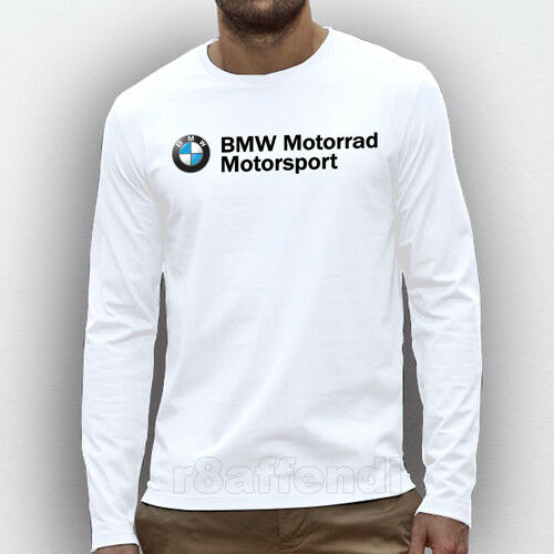 New BMW Motorrad Motorsports #2 Motorcycle Logo Long Sleeve T-shirt