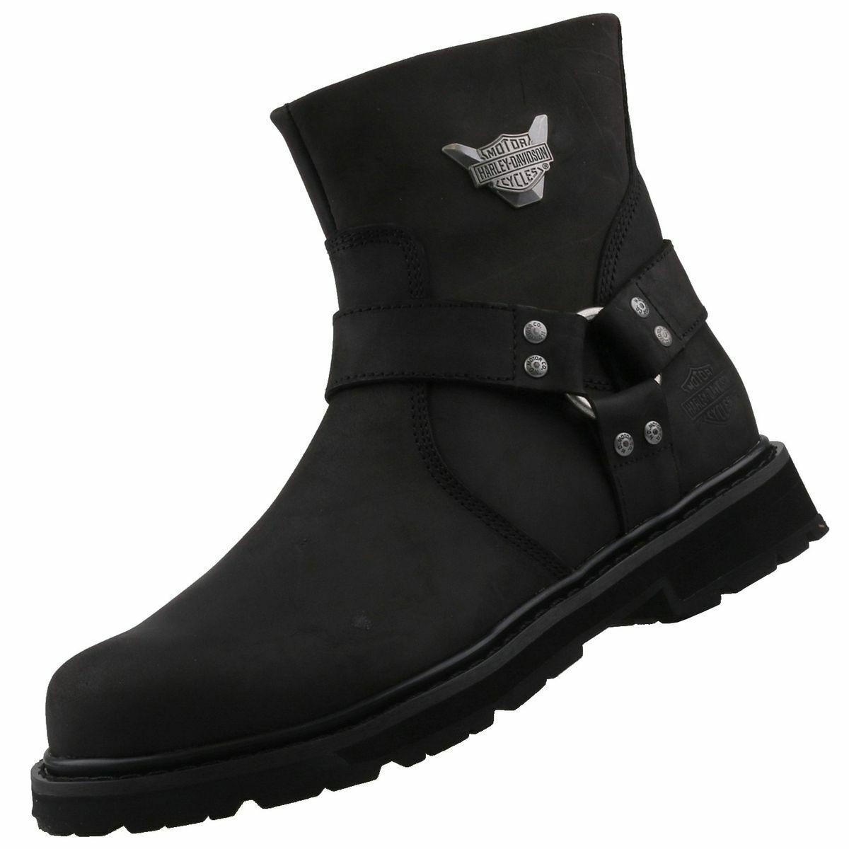 Nuevo Harley Davidson zapatos caballero zapatos botas motorista caballeros botas botas de cuero
