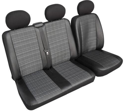 Bus Mercedes Vito Universal Polyester mit Kunstleder Schonbezug Sitzbezug Prime