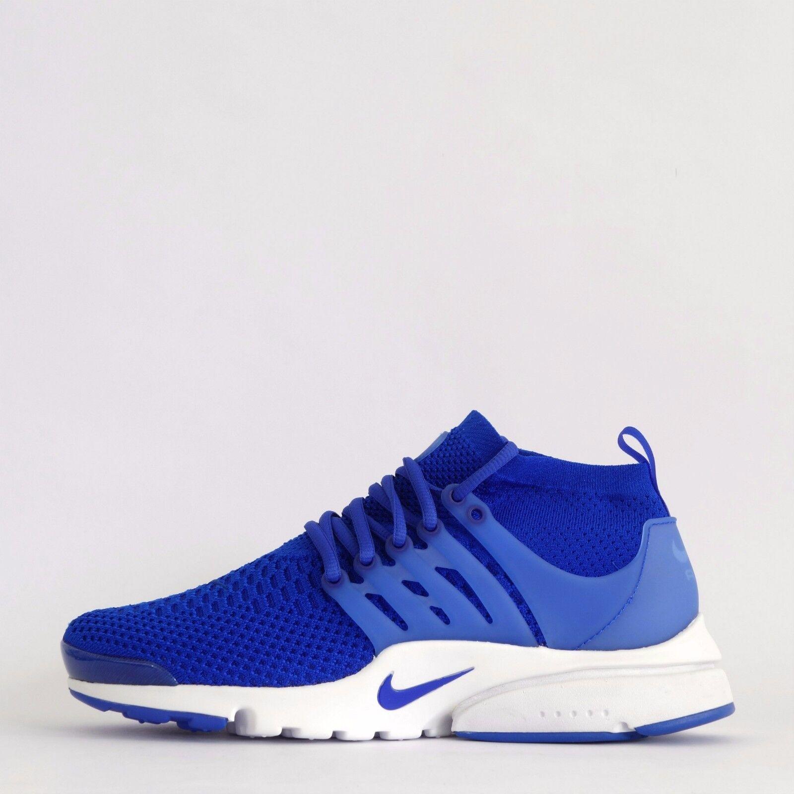 Nike Luft Presto Flyknit Ultra Herren Laufschuhe Turnschuhe Blau