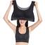 Womens Yoga Fitness Stretch Plus Size Breathable Sports Bra icycreamyy NM1