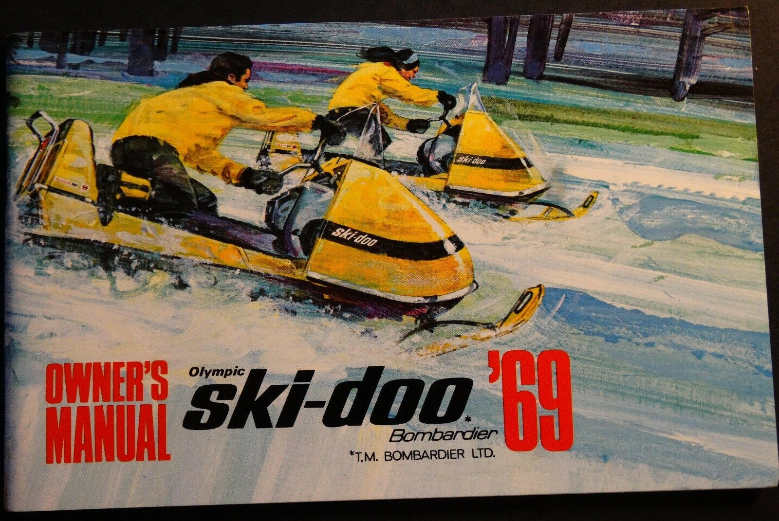 VINTAGE 1969 SKI-DOO OLYMPIC SNOWMOBILE OWNERS MANUAL BRAND NEW (419)
