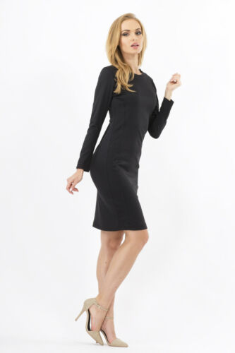 Classic Women/'s Dress Crew Neck Cocktail Party Formal Sizes 8-14 FA214