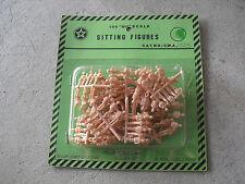 Pack of 100 Vintage HO Scale Circus Craft Sitting Figures 1025 NIP