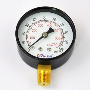 Fuel-Injection-Pressure-Tester-Gauge-Pump-Test-Tool-100psi-Injector-Tool