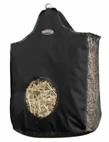 Showman Heavy Denier Nylon Hay Bag w// Mesh Sides /& Bottom