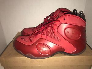 online store 847cf 9c408 Image is loading Nike-Zoom-Rookie-Penny-Hardaway-Red-Men-039-