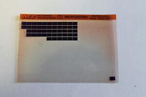 MZ-Microfich-Richtzeiten-MUZ-Motorraeder-Stand-28-02-1994-Microfiche