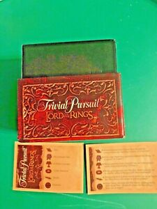 Trivial-Pursuit-The-Lord-of-the-Rings-Trivia-CARDS-FREE-SHIPPING