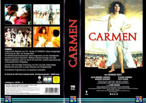 "1 von 1 - VHS - "" Georges Bizet - CARMEN "" (1984) - Placido Domingo"