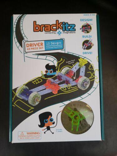 Brackitz Driver STEM Car Building Toy  43 piece set
