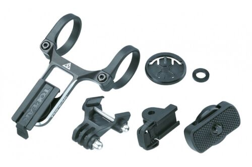 Adapters Garmin Topeak Ridecase Centre Mount with Multi Sports Camera /& G-EAR