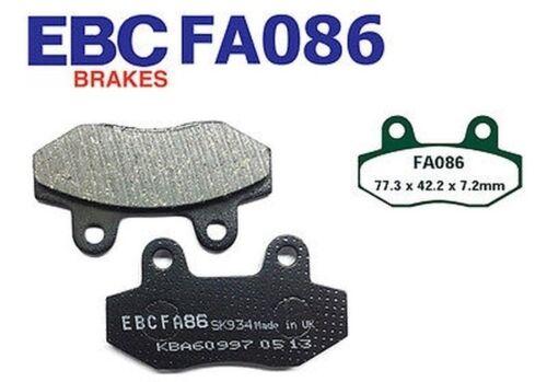 06-08 pit bike EBC plaquette de frein fa086 arrière quadzilla wk 110 white Knuckle